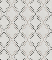 Eaton Square Sheer Fabric-Casino/Charcoal