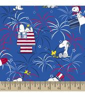 Patriotic Fabric-Peanuts? Fireworks