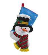 Bucilla® 18inches Stocking Felt Applique Kit-Jack Frost