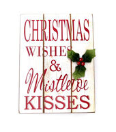 Makers Holiday Table Decor Block-Xmas Wishes