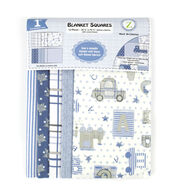 Buy Now Land of Whimzie Movin On Flannel Blanket Squares – 12 pcs 10.5inches x 10.5inches Before Too Late