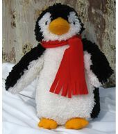 Penguin Stuffed Animal Latch Hook-15'' Tall