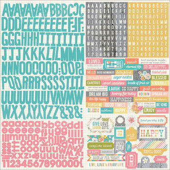 Simple Stories Vintage Bliss Stickers Expression