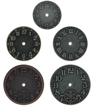 Tim Holtz Idea-Ology Timepieces Clock Faces