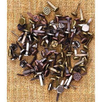 Prima Marketing Mechanicals Metal Vintage Trinkets Brads Mini