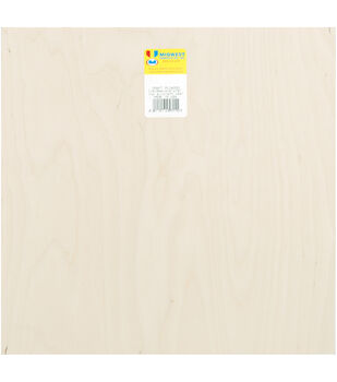 "Plywood Sheet 12""X.25""X12"""