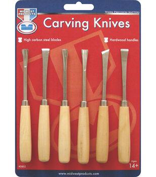 Wood Carving Set 6/Pk