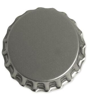 "Vintage Collection Jumbo Bottle Cap 1-3/4"" 1/Pk-Chrome"