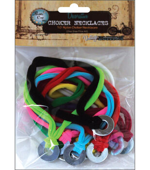 Vintage Collection Nylon Chokers 10/Pk-Assorted