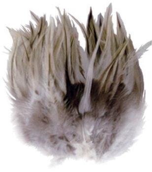 3 gr. Badger Saddle Hackle Feathers