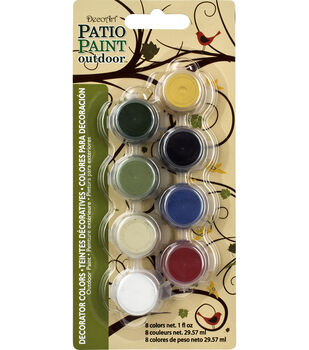 Patio Paint Decorator Color 8 Pot Paint Pot 4x2