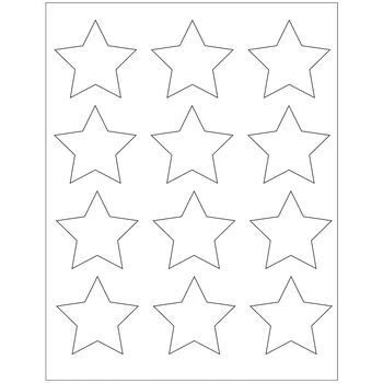Maya Road Kraft DIY Stickers All Stars