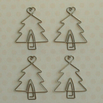 Maya Road Vintage Metal Trinkets Christmas Tree Clip