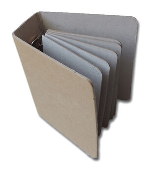 W/6 Pages -Chipboard Binder 4X5