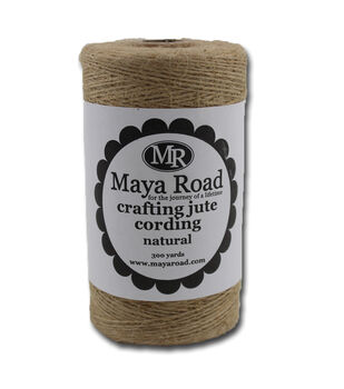 Maya Road Natural - Craft Jute Cord 300 yds