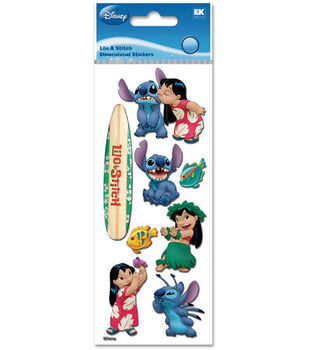 A Touch Of Jolee's Disney Dimensional Stickers-Lilo & Stitch