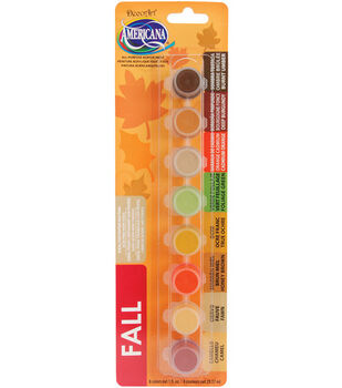 Deco Art Americana Paint Pot Strip-Fall