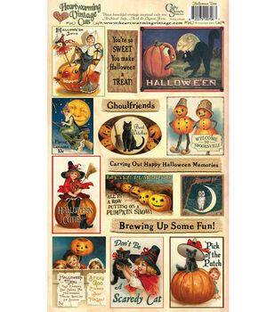 Heartwarming Vintage Cuts-Halloween Time