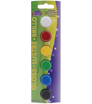 Deco Art Paint Pots-6PK/Gloss