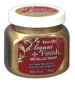 10 oz Elegant Finish Metallic Paint Gold
