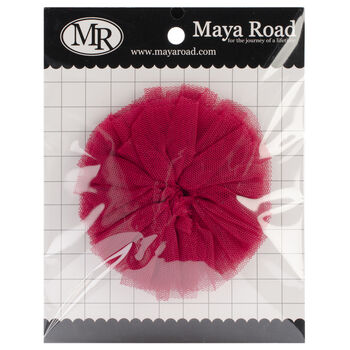 Maya Road Tulle Mum Flower