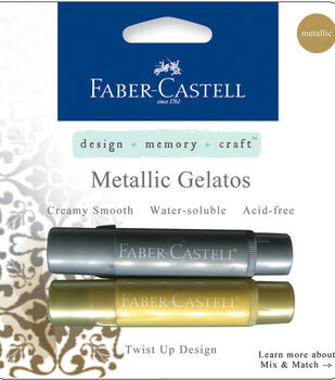 Faber-Castell design-memory-craft Mix & Match Gelatos Stick-Gold & Silver