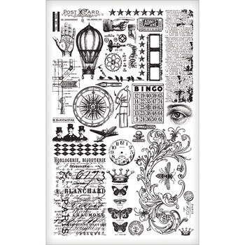 Tim Holtz Idea-Ology Remnant Rub-Ons Elements
