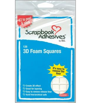 Scrapbook Adhesives 3D Foam Squares