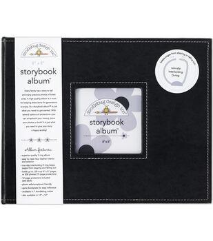 "Doodlebug Storybook Album 8""X8""-MANY COLORS"