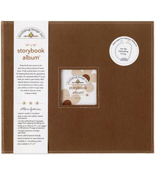 Doodlebug Storybook Album 12''x12''-Bon Bon