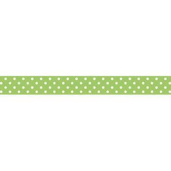 Doodlebug Washi Tape Limeade Swiss Dot