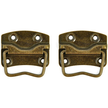 Kaisercraft Treasures Metal Case Handle with Back plate Antique Brass