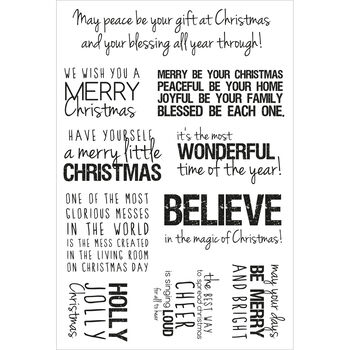 Quotes -christmas Clr Stamps