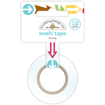Doodlebug Day To Day Washi Tape This Way