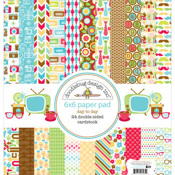 Doodlebug Day To Day Double-Sided Paper Pad