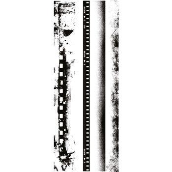 Kaisercraft Texture Clear Stamps Film Edges