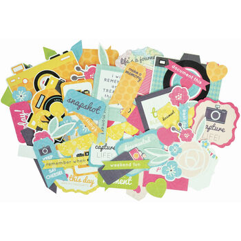 Kaisercraft Collectables Cardstock Die-Cuts Happy Snaps
