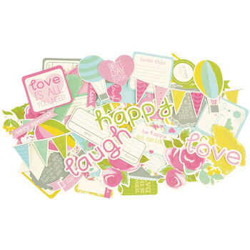 Kaisercaft Confetti Collectables Cardstock Die-Cuts