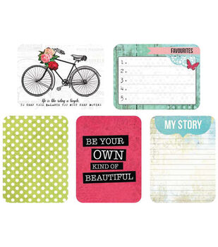 Kaisercraft Captured Moments Double-Sided Cards Life's Treasures 3''X4''