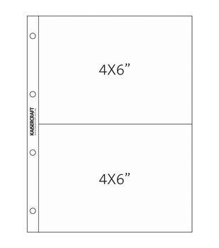 Kaisercraft Captured Moments Pocket Pages 4''X6'' Pockets