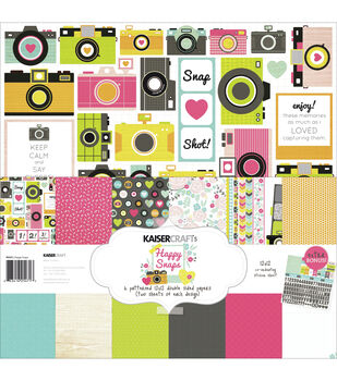 Kaisercraft Happy Snaps Paper Pack