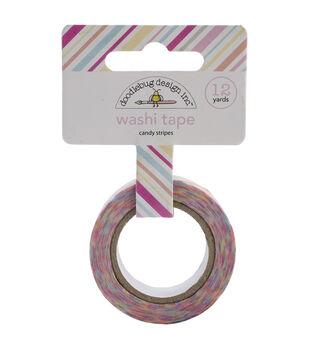 Doodlebug Candy Stripes - Sugar Shoppe Washi Tape