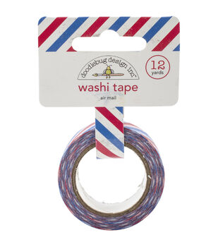 Doodlebug Airmail - Washi Tape 15mm x 12yd