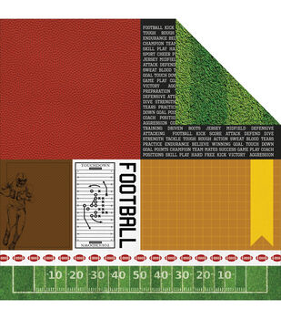 Kaisercraft All Star - Game On Double Sided Cardstock
