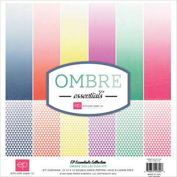 Essentials Ombre Collection Double-Sided Papers