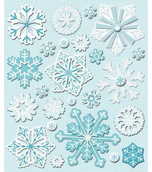 Sticker Medley-Snowflakes