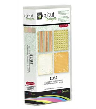Provo Craft® Cricut® Imagine Colors & Patterns Cartridge-Elise