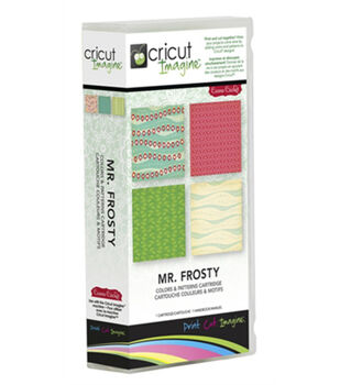 Provo Craft® Cricut® Imagine Colors & Patterns Cartridge-Mr. Frosty