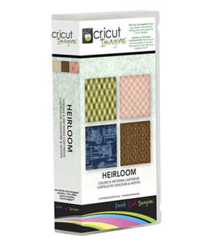 Provo Craft® Cricut® Imagine Colors & Patterns Cartridge-Heirloom