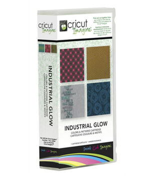 Provo Craft® Cricut® Imagine Color & Patterns Cartridge-Industrial Glow